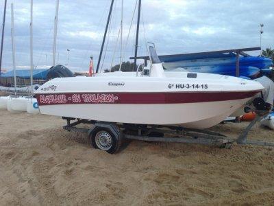 Alquilar un barco en Islantilla sin titulación 2h
