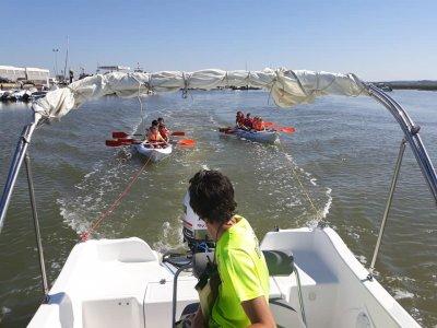 Alquiler barco Voraz 450 en Islantilla 4 horas
