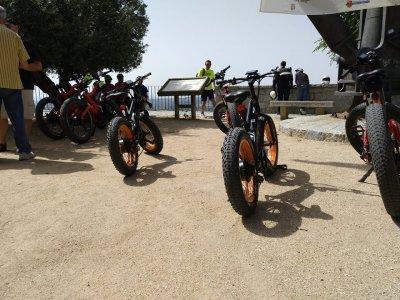 Alquilar fat bike eléctrica en Zarzalejo adulto 1h
