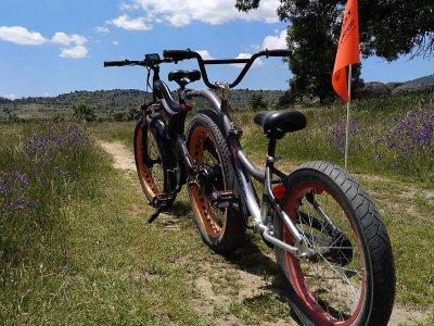 Alquilar bicicleta eléctrica y tándem Zarzalejo 1h