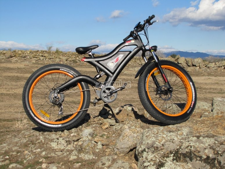 Bicicleta de ruedas anchas