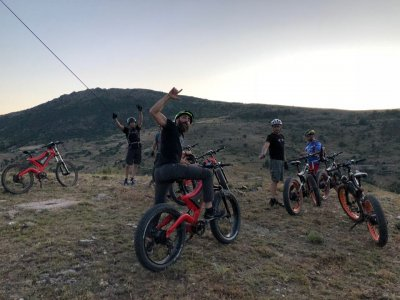 Team building orienteering ebike Escorial & meal