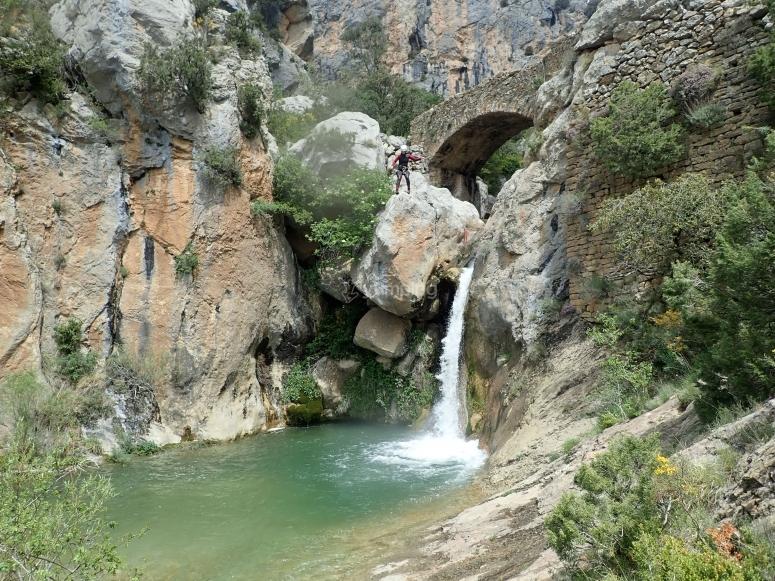 在波伊索斯进行水峡谷探险