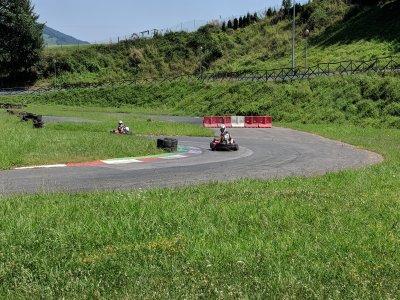 在Olaberria组的卡丁车赛200cc比赛10分钟