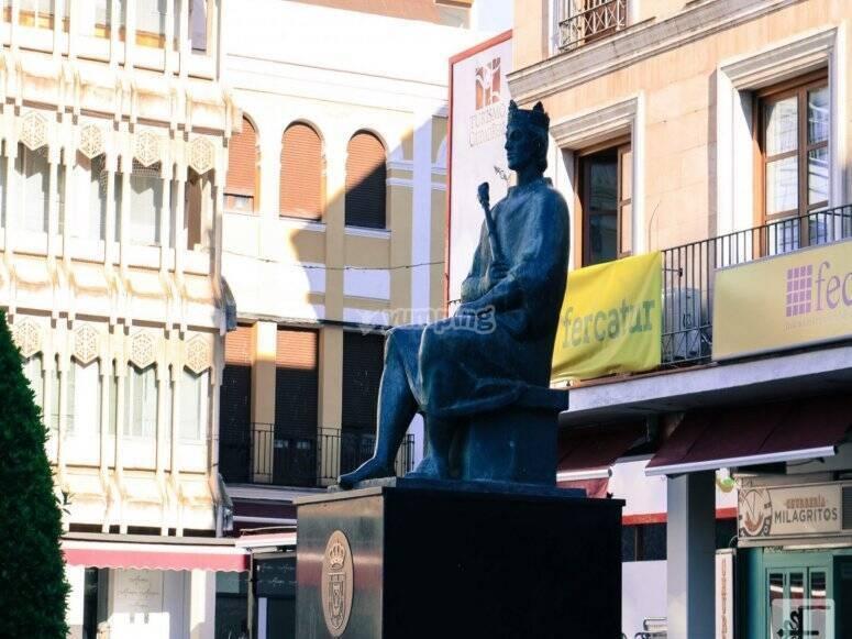 statue de la ville