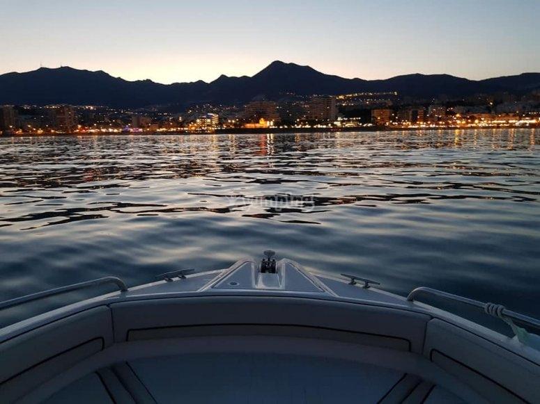 Puerto Marina de noche