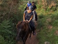 Horse riding route through Navarra