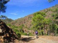 Paseo en bici de montaña
