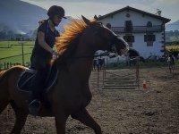 Enjoying an equestrian camp
