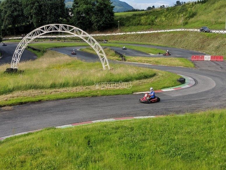 kart en carrera
