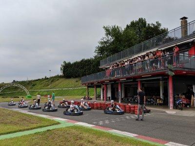 Competición de karts de 200cc en Olaberria 30 min