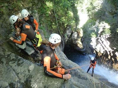 Terrassa的高级峡谷训练课程