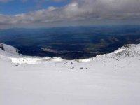 Raquetas de nieve en la Covatilla