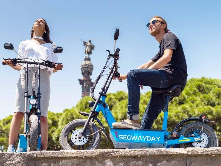 Recorre Barcelona en e-scooter
