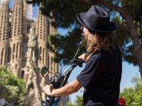 Visit the Sagrada Familia by eScooter