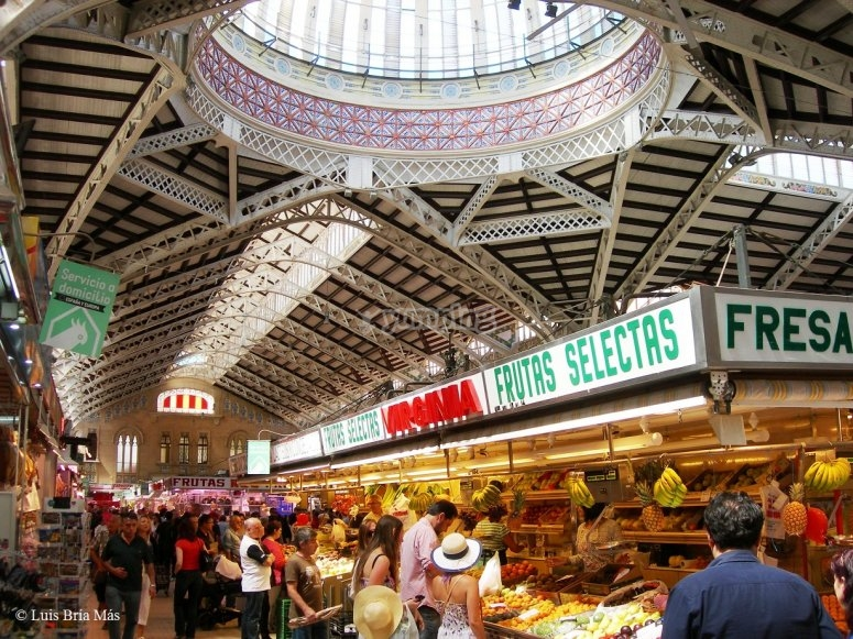 Visit to the Central Market of Valencia