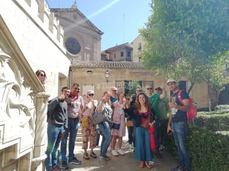 Guided tour of the Lonja de Valencia