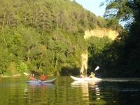 Kayaks doble en Pla de l Estany