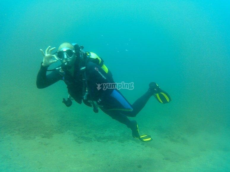 从海下潜水员最好的学习