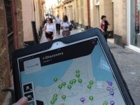 Utiliza la tablet para el juego