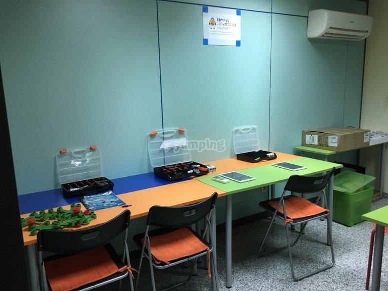 Nuestras aulas preparadas