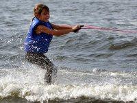 学习滑水Islantilla 4天