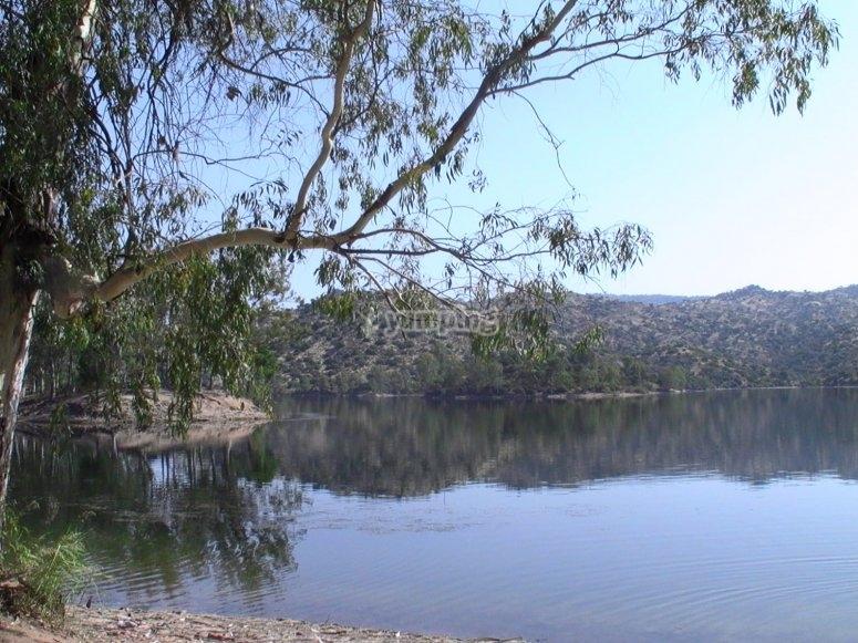 Lago en la sierra de Andujar
