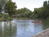 Enjoying an afternoon of kayaking