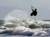 Incredible kitesurf jumps
