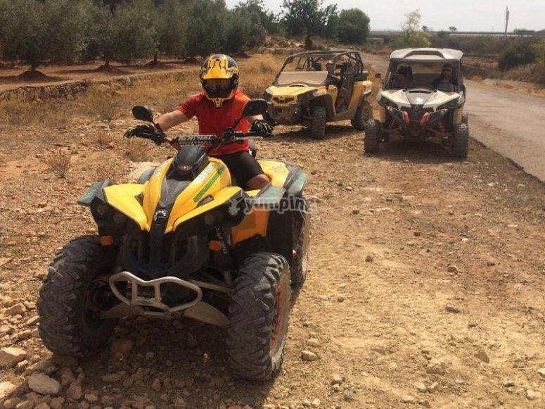 Conducir un quad