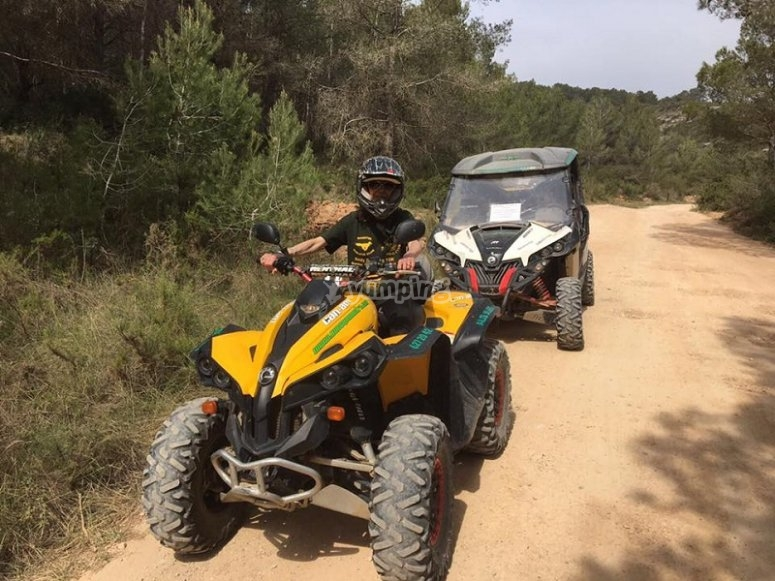 Ruta off road en quad
