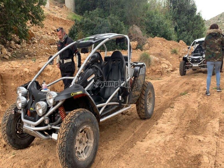 Ruta en buggy por Alcocéber