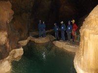 Despedida en la cueva cantabra