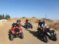 Recorriendo Mijas Costa en quad
