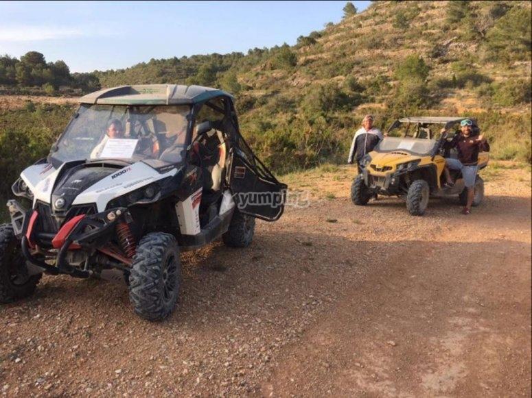 Ruta off road en buggy
