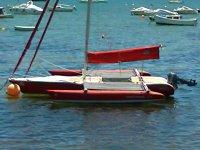 乘坐三体船航行
