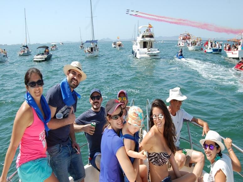 Excursión marítima Virgen Carmen