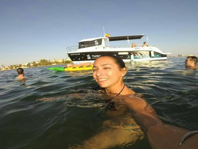 Boat trip and snorkel in Grosa Island 3 hours