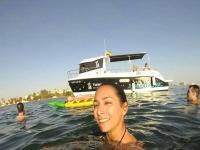Salida en barco snorkel 3 horas en la isla Grosa
