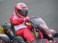 Día de velocidad en el circuito de karts