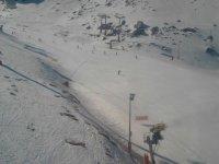 Snowboard en la estación de Sierra Nevada