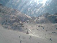 Disfruta de la nieve, con el snowboard