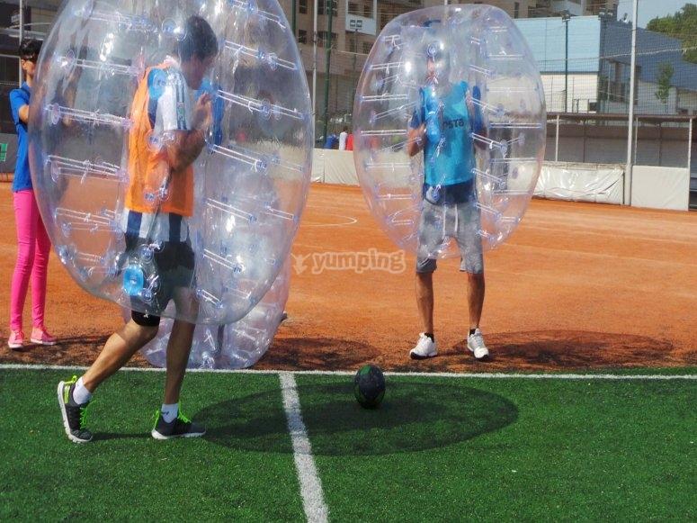 Celebra cualquier evento en una burbuja