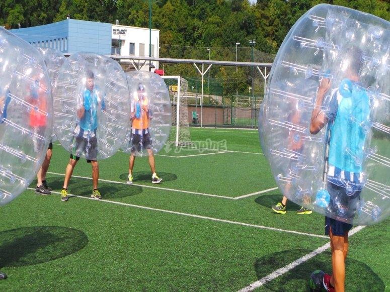 Cuidado que las burbujas van hacia ti