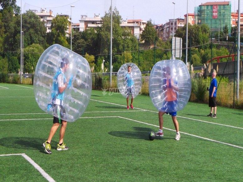 Partida de bubble