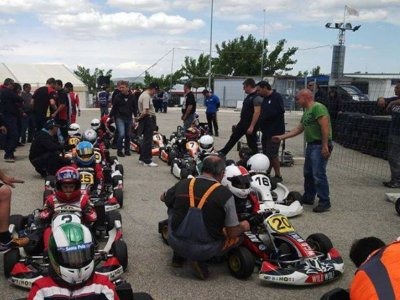 Karting outdoor con Honda 200 en Finestrat