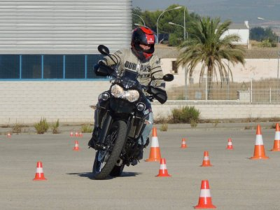 Intermed. precision motorcycling course Antequera