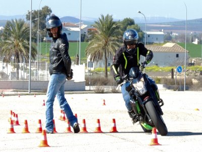 Advanced motorcycling course Antequera 4h