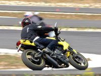 Intermediate level motorcycling