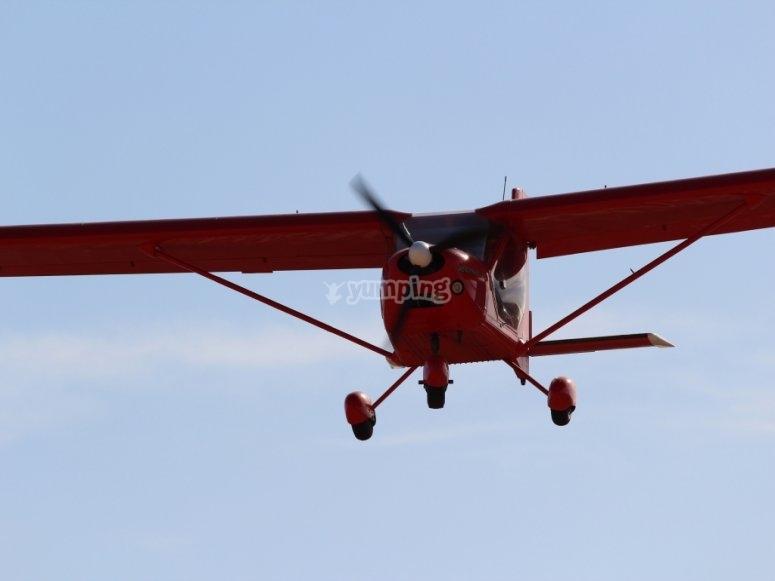 Fly over Murcia